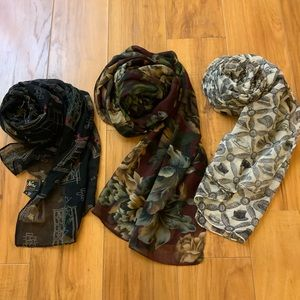 Vintage Long Scarf Lot
